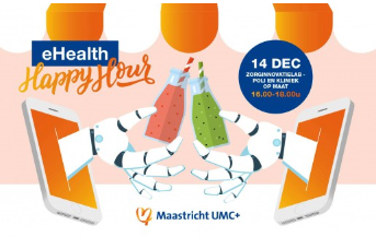 Maastricht UMC+ organiseert 'e-Health Happy Hour'