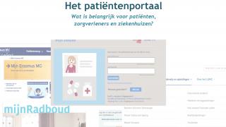 Patiënten zijn enthousiast over ziekenhuisportaal