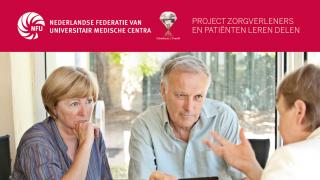 Zorgverleners en patiënten leren delen: 'Bijna iedereen staat hierachter'